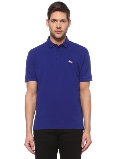 Etro Etro  Logolu Polo Yaka T-shirt 101617992 Mavi